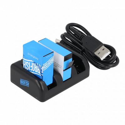 Afbeelding van Brofish Triple Battery Charger For GoPro HERO3+ & GoPro HERO4