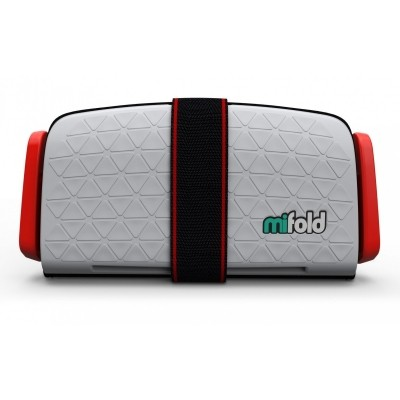 Foto van mifold Grab-and-Go Booster Seat (Pearl Grey)
