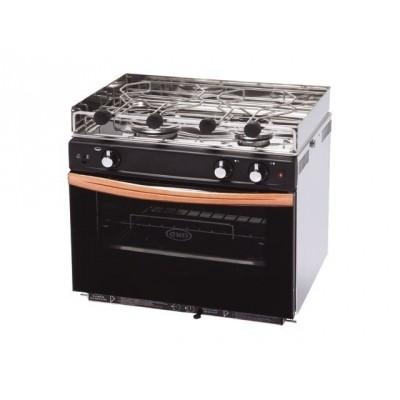 Eno Gascogne 2 pits kooktoestel met oven