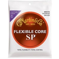 Foto van Martin Flexible Core MFX775 Custom Light, Phosphor Bronze 011-052
