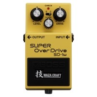 Foto van Boss SD-1w Waza Craft special edition Super Over Drive
