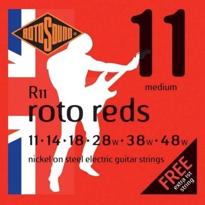 Rotosound R11 Roto Reds 011-048